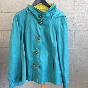 Lg gallery yellow teal spring jacket